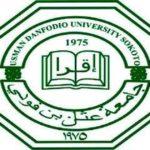 List of courses offered in Usmanu Danfodiyo University, Sokoto (UDUSOK)