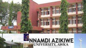 UNIZIK academic calendar