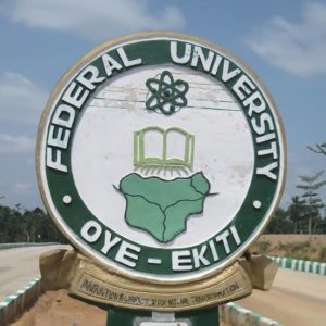 List of courses offered in Federal University Oye Ekiti (FUOYE)
