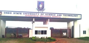 Ondo State University of Science and Technology Okitipupa OSUSTECH School Fees Schedule For New and Returning Students