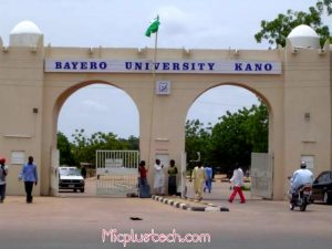 Bayero University, Kano BUK Post UTME Screening Form