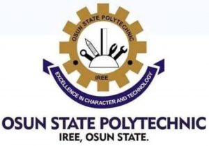 Osun State Poly Iree Admission List